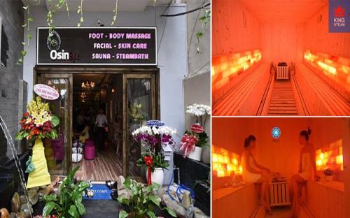 Cung Cấp Phòng Xông Hơi Đá Muối Và Giường Massage Cho Spa Osin