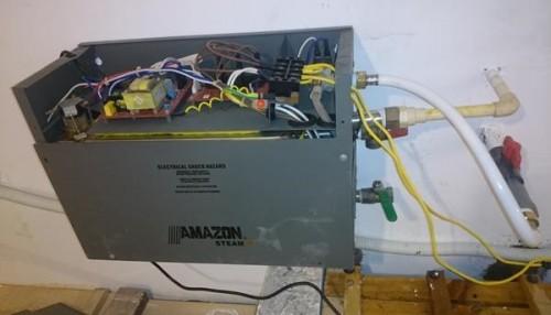 Những lỗi thường gặp của máy xông hơi Amazon Sauna và Amazon Steam !