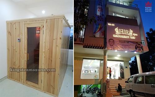 Phòng xông hơi khô cho Spa HB tại Biên Hòa