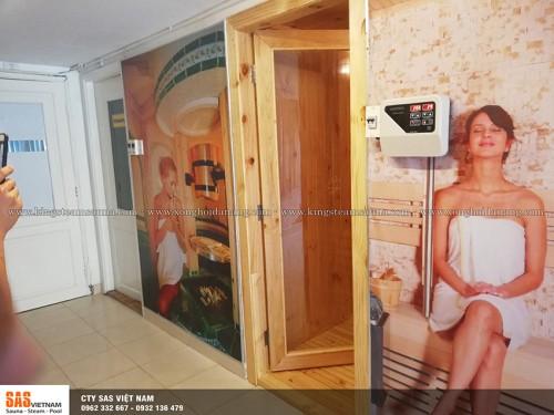 Thi Công Phòng Xông Hơi Khô Tại BlueBay Mũi Né Resort & Spa Phan Thiết