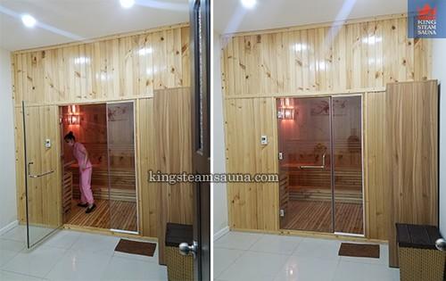 Cung cấp phòng xông hơi khô sauna gia đình tại bình dương